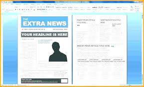 Free Newsletter Templates Publisher Fresh Time Magazine