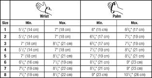 Mcdavid Compression Arm Sleeve Sizing Chart Jobst Size Charts