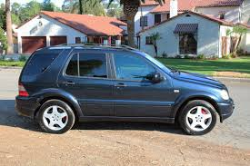 California Original, 2000 Mercedes Benz Ml55 Amg, All Wheel Drive ...