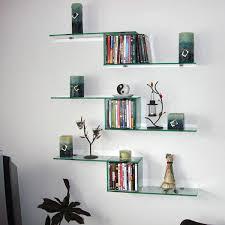 diy floating shelves dulles glass mirror