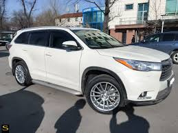 toyota highlander white custom wheels - Google Search | Car Ideas ...