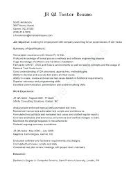 Sample Resume For Quality Assurance Manager Safety Job Description