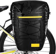 Waterfly 25L <b>Bike Bag Bike</b> Panniers <b>Bag Waterproof Bike Saddle</b> ...