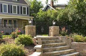 retaining wall and patio wall with