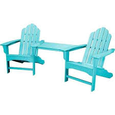 composite adirondack chairs. Composite Adirondack Chairs Blue 3 Piece All Weather Plastic Patio Lounge Chair Set On Sale Free