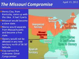 the missouri compromise thinglink