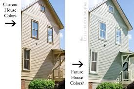 cottage paint colorsHouse Colors  The Lettered Cottage