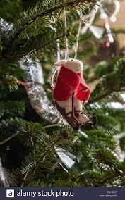 Maus In Einem Roten Mantel Rodeln Christbaumschmuck