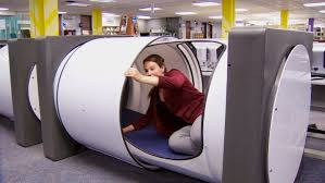 office sleeping pod. Unique Office Office Sleeping Pod Jocelyne Leszczynski  BCITu0027s Media Relations  Coordinator Slides The For Office Sleeping Pod