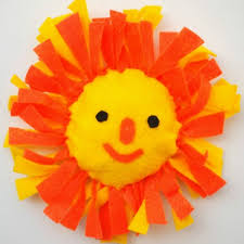 make a no sew sun pillow easy and fun summer crafts diy projects