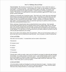 Report Outline Template. Research Report Outline Template Awesome ...
