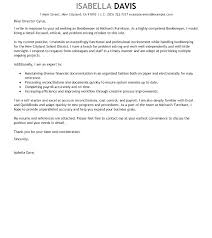 bookkeeper cover letters sample cover letter for bookkeeper accounting bookkeeping free