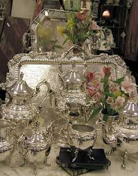 Decorating With Silver Trays Ah The Pretty Things Silver Pinterest Teas Tea time and Teapot 26