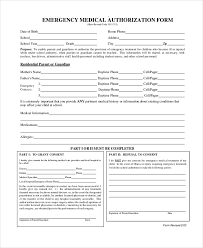 Medical Form In Pdf Sample Medical Authorization Form - 10+ Free Documents in PDF