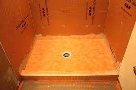 shower tray pan installation bathroom design kit st base 48x72 48 x 72 fiberglass sh