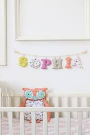 6 letters girls room name banner made