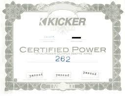 kicker dx250 1 dx series 250w class d mono car audio subwoofer dx200 4 power certificate