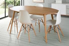 oval dining room tables attractive tretton round retro solid oak table my furniture in addition to 15