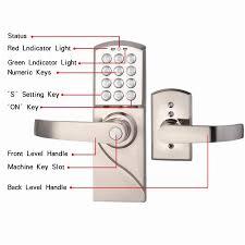 Apartment Rarelock Digital Electronic Code Keyless Keypad Security Entry Door Lock Right Handle Officehouse Locks Rarelock Digital Electronic Code Keyless Keypad Security Entry Door