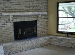 paint fireplace ideas grey painted brick fireplace fireplace paint ideas