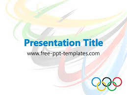 Olympic Rings Ppt Template