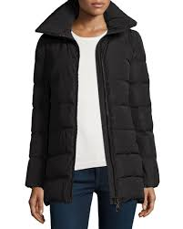 Moncler Petrea Quilted Puffer Coat, Black &  Adamdwight.com