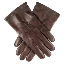 black co uk men s dark brown cashmere lined leather gloves