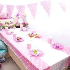 plastic table cloth new disposable plastic table cloth cute patterns table cover tablecloth for kids birthday