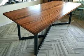 round wood and metal dining table metal dining table base industrial kitchen table legs metal wood dining table pertaining to and decor wood and metal