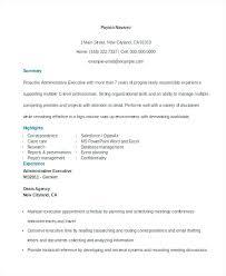 Administrative Executive Resume Unique Photograph Of Admin Executive