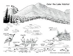 lake coloring page mountain lake coloring pages lake coloring page