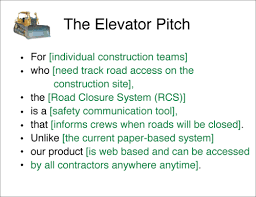 elevator pitch resume how ...