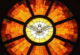 It is the day after pentecost, also known as whit sunday or whitsunday, which commemorates the descent of the holy ghost upon the disciples of jesus christ, according to the new testament of the bible. Punkosd A Szentlelek Eljovetele Pentecost Holy Spirit Stained Glass Windows Church