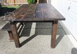 harvest dining table — owlsnest