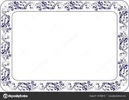 Изолированные рамка фон шаблон сертификата Стоковое фото © st  Изолированные рамка фон шаблон для сертификата или диплома Фото автора st481