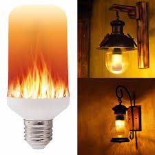 Flickering Fire Light Bulb Led Flame Effect Fire Light Bulbs Creative Lights Flickering