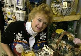 judy bastian with taste of toledo gift baskets