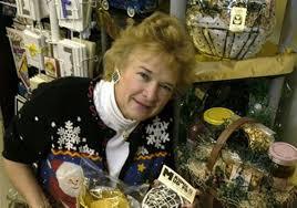 judy bastian with taste of toledo gift baskets