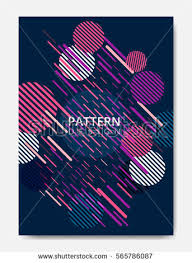 simple backgrounds for flyers cool flat geometric pattern colorful backgrounds stock vector