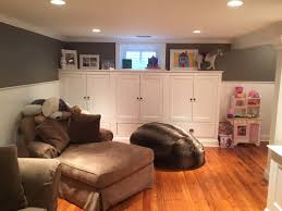 Basement Remodeling Monks Home Improvements - Ununfinished basement before and after