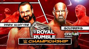 WWE Royal Rumble 2021 Official Match Card HD - YouTube