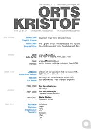 creative resume html