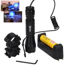 Rechargeable Weapon Light Us 12 83 45 Off Q5 T6 Led Tactical Hunting Flashlight Weapon Gun Light Remote Switch 18650 Rechargeable Battery Rifle Scope Gun Mount Charger In