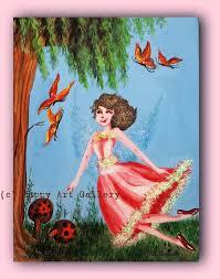 merry fairy kids room decor art for