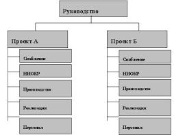 Схема дивизионной структур управления li pulpit система управление организации и его структура курсовая