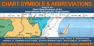 Nautical Chart Symbols Abbreviations