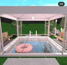 aesthetic front garden ideas bloxburg