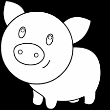 Small Picture Baby Coloring Pictures Of Cute Pigs Pig Coloring Page Pages Cute