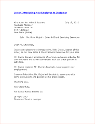 introduction letter to customers for new manager template introduction letter to customers for new manager