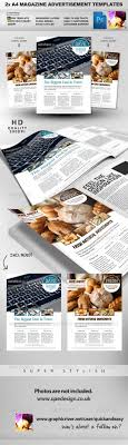 feature image a magazine ad layout by quickandeasy graphicriver 2 feature image a4 magazine ad layout magazines print templates